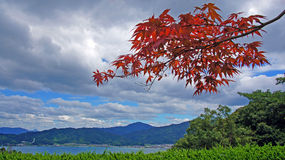 Amanohashidate-Bucht Lizenzfreies Stockfoto
