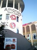 Amanora-Stadt Stockbild