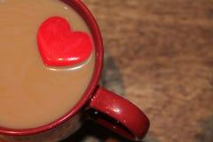 Amant de café Images libres de droits