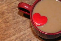 Amant de café Image stock