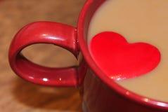 Amant de café Photographie stock libre de droits