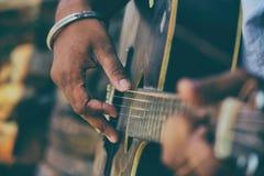 Amant de guitare photos libres de droits