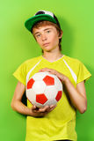 Amant du football images stock