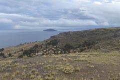 Amantani island, Titicaca lake, Peru Royalty Free Stock Photo