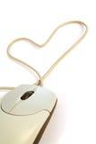 Amante 1 del calcolatore Immagini Stock