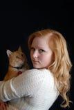 Amante animale Fotografia Stock Libera da Diritti