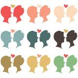 Amante colorido libre illustration