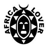 Amante de África ilustración del vector