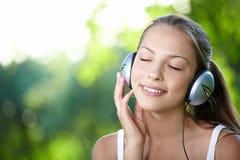 Amante de la música Imágenes de archivo libres de regalías