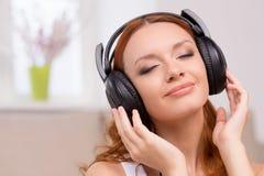 Amante de la música. Fotografía de archivo libre de regalías