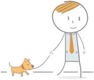 Amante dei cani Immagine Stock Libera da Diritti