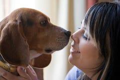 Amante del animal doméstico Imagen de archivo