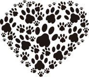 Amante del perro ilustración del vector