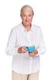 Amante del tè Immagini Stock