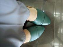 Amante della scarpa Fotografie Stock