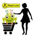 Amante di sogno per il download Fotografia Stock Libera da Diritti
