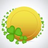 Amante do ¡ de Ð e moeda dourada Imagem de Stock Royalty Free