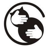 Amante do gato Fotos de Stock Royalty Free