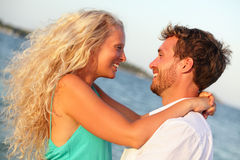 Amantes da paixão - pares no amor Fotografia de Stock