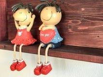 Amantes de la muñeca Imágenes de archivo libres de regalías
