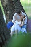 Amantes de los pares Foto de archivo libre de regalías