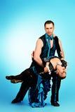 Amantes del tango Imagen de archivo