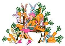 Amantes do animal de estimação Imagem de Stock Royalty Free