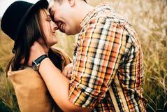 Amantes felices imagen de archivo