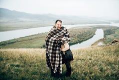 Amantes felices fotografía de archivo