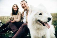 Amantes felices fotos de archivo libres de regalías