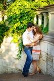 Amantes homem novo e mulher Fotografia de Stock