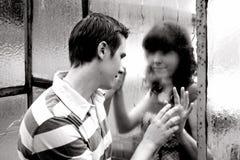 Amantes jovenes Imagen de archivo