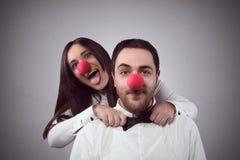 Amantes locos Imagen de archivo libre de regalías
