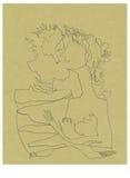 Amantes, no.2 ilustração stock