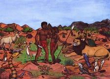 Amanti africani (2011) Fotografia Stock