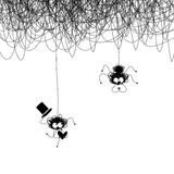 Amanti dei ragni Immagini Stock