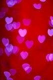 Amanti di Boke del cuore Fotografie Stock