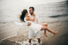 Amanti felici Fotografia Stock Libera da Diritti