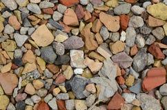 Łamany Brickstones Zdjęcie Stock