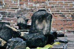 Łamany Buddha Obraz Stock
