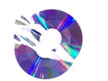 łamany cd Zdjęcia Stock