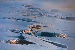 łamany lód Fotografia Stock