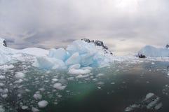 Łamany lód Obrazy Royalty Free