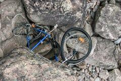 Łamany rower Obraz Stock