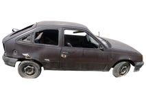 Łamany samochód Fotografia Stock