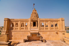 Amar Sagar Jain temple Royalty Free Stock Image