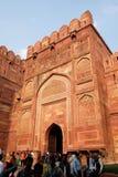 Amar Singh brama Agra fort Obrazy Royalty Free