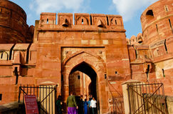 Amar Singh Gate at Agra Fort Stock Photography