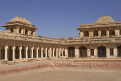 Amar Singh Mahal i Nagaur, Indien Royaltyfria Foton