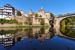 Amarante,葡萄牙 免版税图库摄影